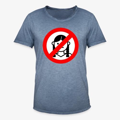 Das Ironie Greta Shirt - Männer Vintage T-Shirt