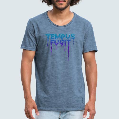 Tempus Fugit - Männer Vintage T-Shirt