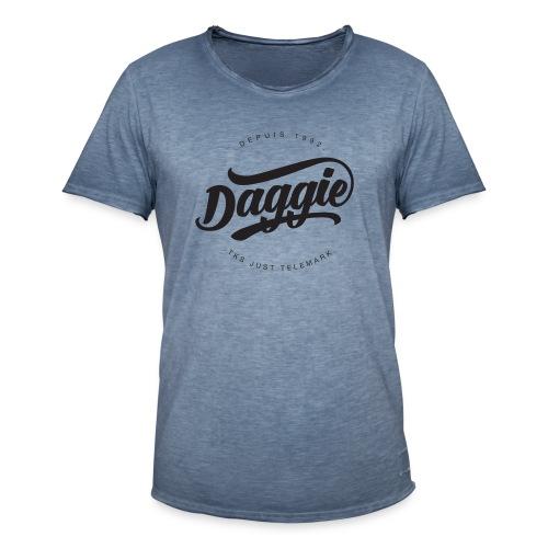 Daggies LOGO Serigraphie - T-shirt vintage Homme