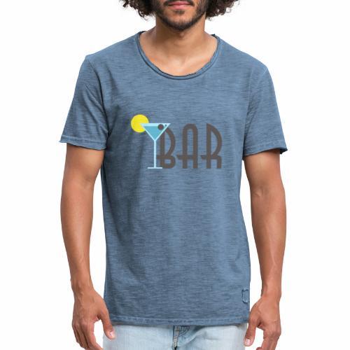 Bar Cafe - Männer Vintage T-Shirt