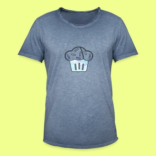 Pastel - Camiseta vintage hombre