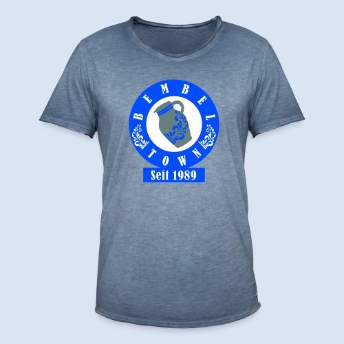 Bembeltown seit 1989 - #HessenShop #Frankfurt - Männer Vintage T-Shirt