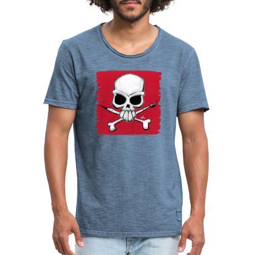 schädel2020 - Männer Vintage T-Shirt