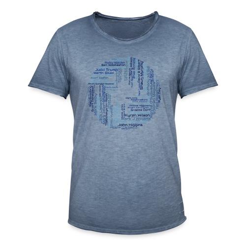 SnookerWorldRanking - Männer Vintage T-Shirt