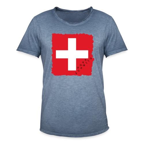 Schweiz 21.1 - Männer Vintage T-Shirt