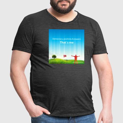 Rolling hills tshirt - Herre vintage T-shirt