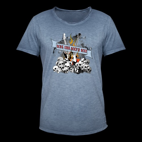 long live - Vintage-T-shirt herr