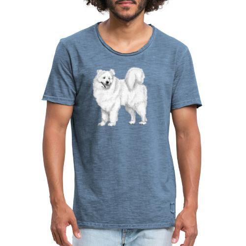 samoyed - Herre vintage T-shirt