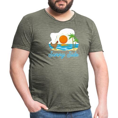 Sunny side - Maglietta vintage da uomo