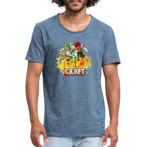 LegionCraft - T-shirt vintage Homme