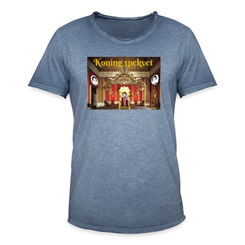 Koning Spekvet - Mannen Vintage T-shirt