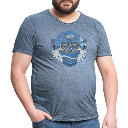 monkey - Männer Vintage T-Shirt