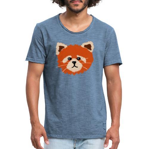 Amanda the red panda - Men's Vintage T-Shirt
