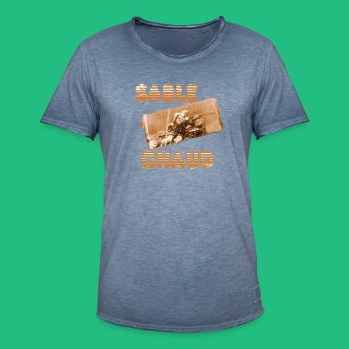 sable chaud3 - T-shirt vintage Homme