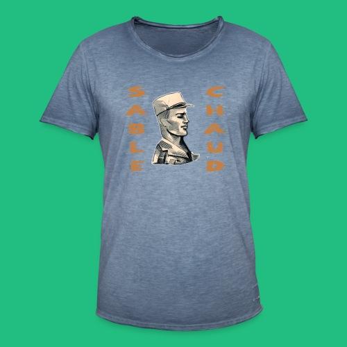 sable chaud5 - T-shirt vintage Homme