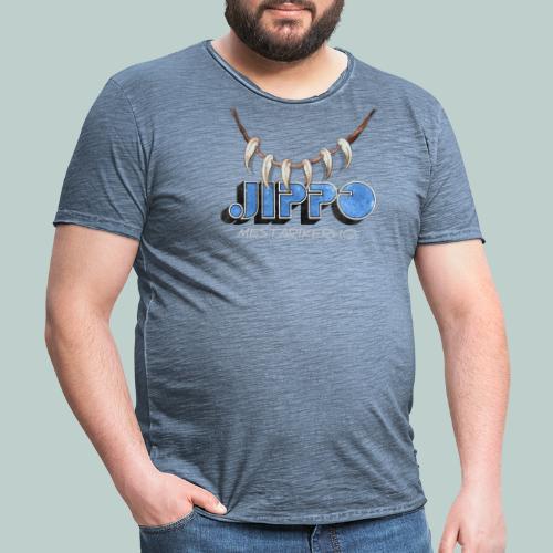 Jippomestari - Miesten vintage t-paita