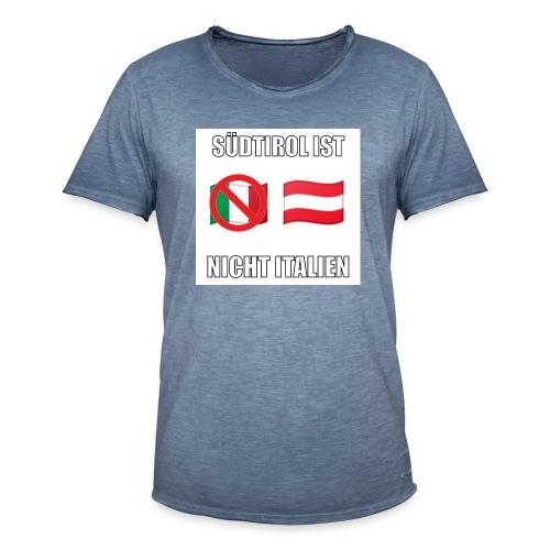 Südtirol ist nicht Italien - Männer Vintage T-Shirt