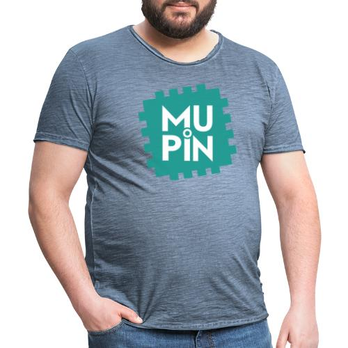 Logo Mupin quadrato - Maglietta vintage da uomo
