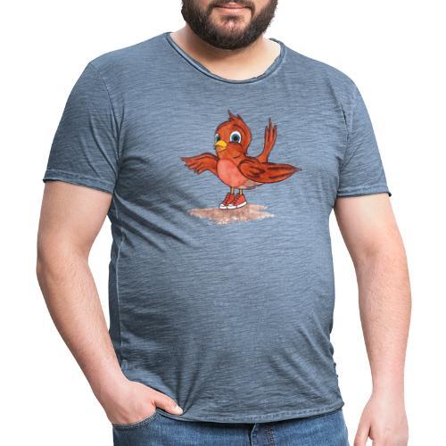A bird - Maglietta vintage da uomo
