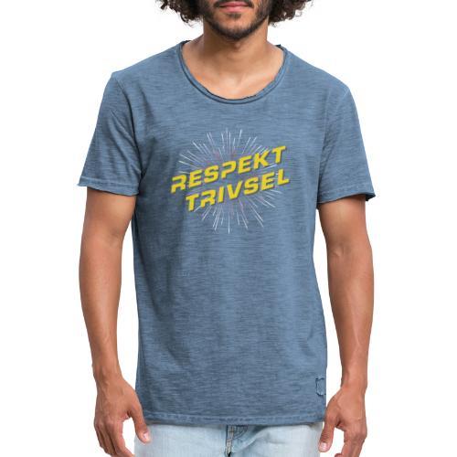 Respekt, Trivsel og Superkultur - Herre vintage T-shirt