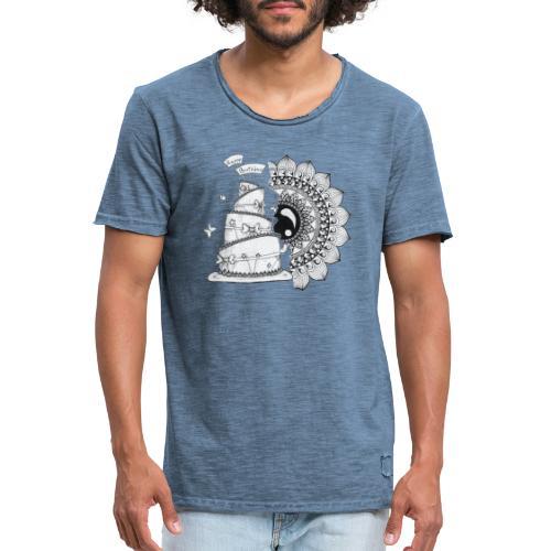 TortaMandala - Maglietta vintage da uomo