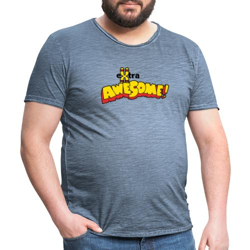eXtra Awesome Down's Syndrome Tee - Men's Vintage T-Shirt