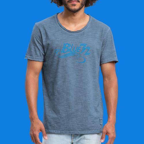 Logo BLUE72 - Männer Vintage T-Shirt