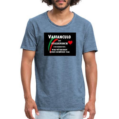 Schöner Tag - Männer Vintage T-Shirt