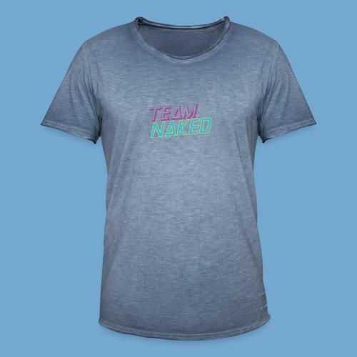Team Naked - Männer Vintage T-Shirt