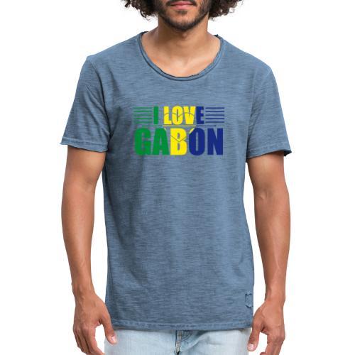 love gabon - T-shirt vintage Homme