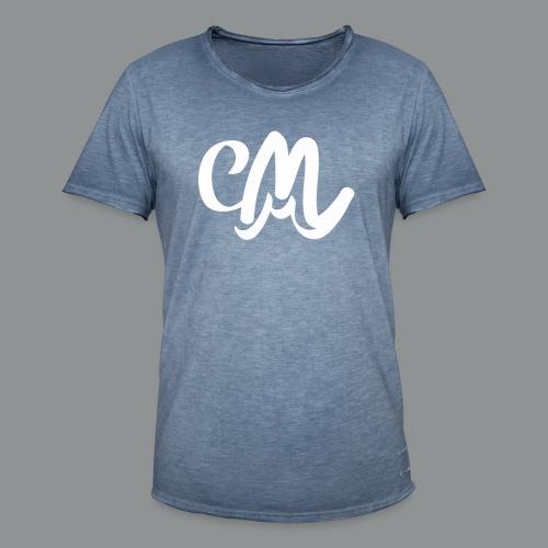 Kinder/ Tiener Shirt Unisex (voorkant) - Mannen Vintage T-shirt
