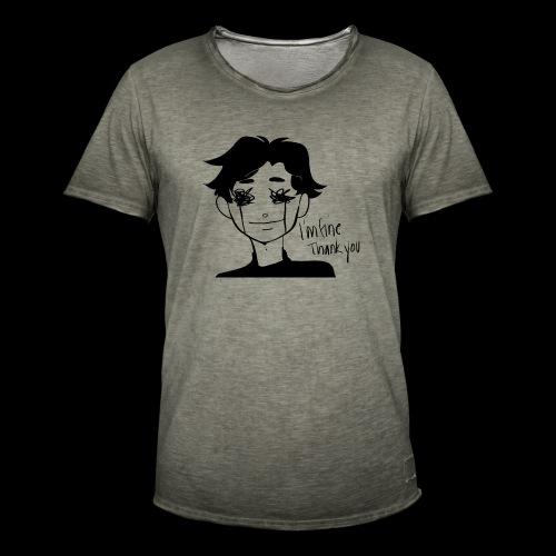 Feeling Vulnerable - Mannen Vintage T-shirt
