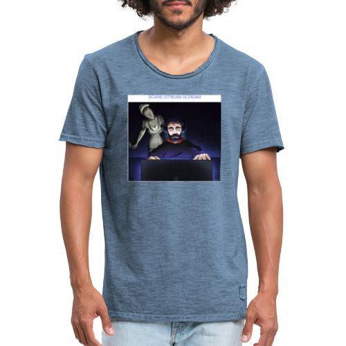 motif6 - T-shirt vintage Homme