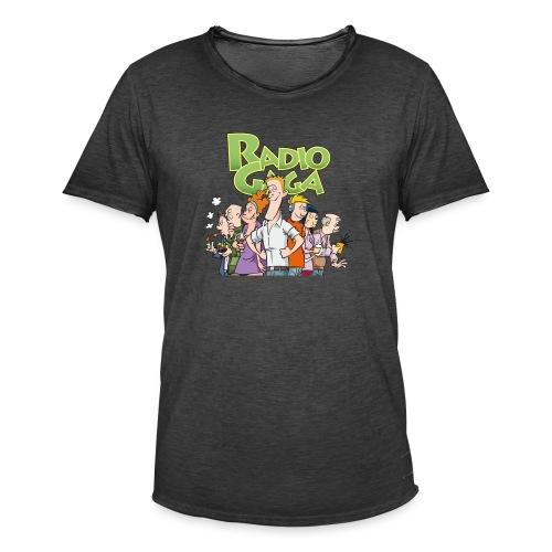 Radio Gaga-redaksjonen - Vintage-T-skjorte for menn