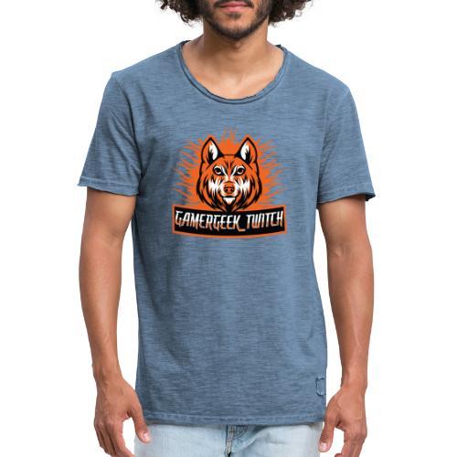 GamerGeek Logo XXXL - Männer Vintage T-Shirt