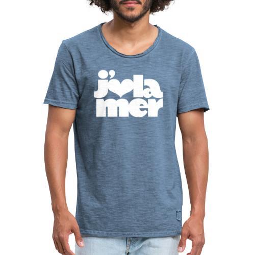BD J'aime la Mer - Männer Vintage T-Shirt