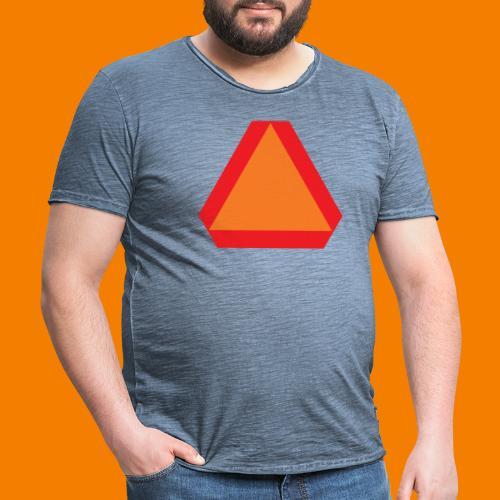 Långsamt gående - Vintage-T-shirt herr