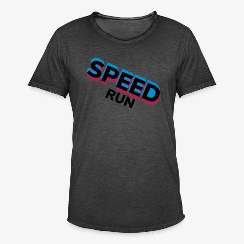 Speedrun - Mannen Vintage T-shirt