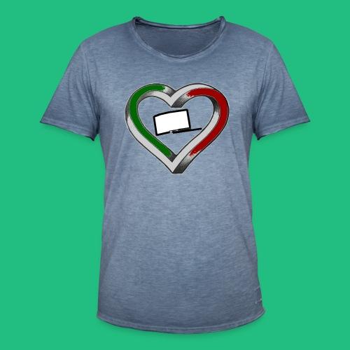 heartleg - T-shirt vintage Homme