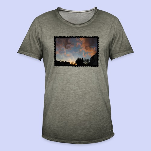 Curly view- Summer nights cup - Herre vintage T-shirt