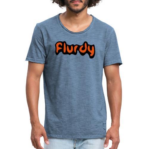 flurdy warped - Men's Vintage T-Shirt