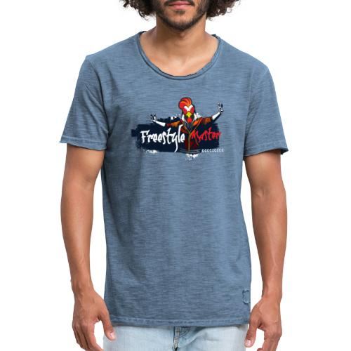 freestyle master - Camiseta vintage hombre