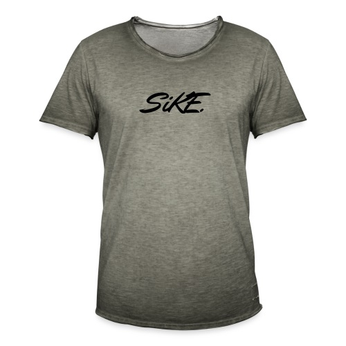 SIKE - T-shirt vintage Homme