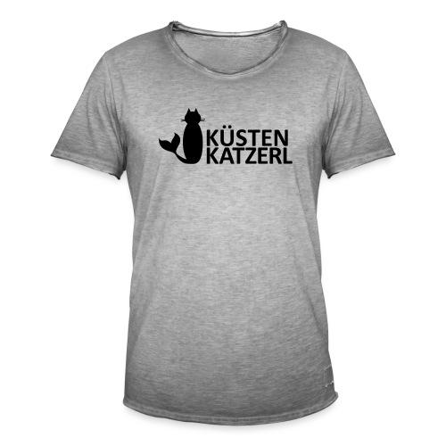 Küstenkatzerl - Männer Vintage T-Shirt