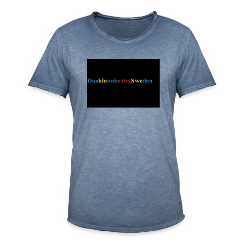 DualdnoobextraSwedens Mugg - Vintage-T-shirt herr