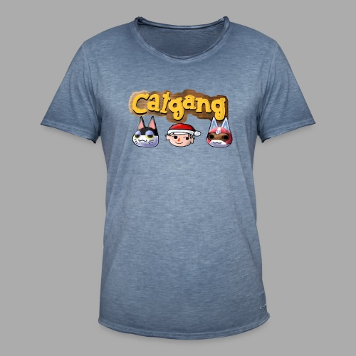 Animal Crossing CatGang - Männer Vintage T-Shirt