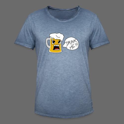 Bière - T-shirt vintage Homme