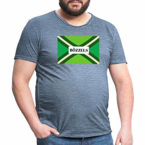 BÖZZELS - Mannen Vintage T-shirt