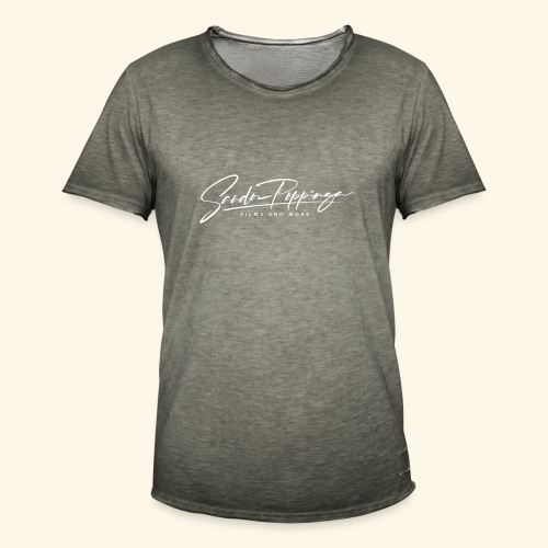 Sandor Poppinga, Filmemacher. Dies ist mein Logo. - Men's Vintage T-Shirt
