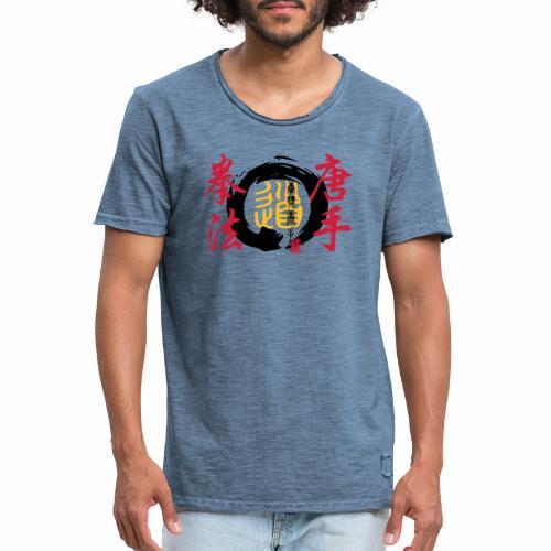 enso karatekempo - Männer Vintage T-Shirt